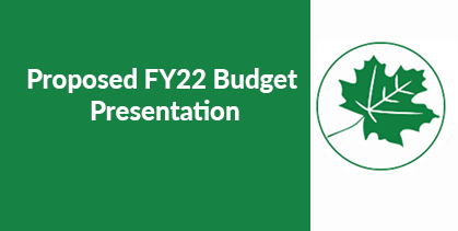 Budget Information Meeting Reminder