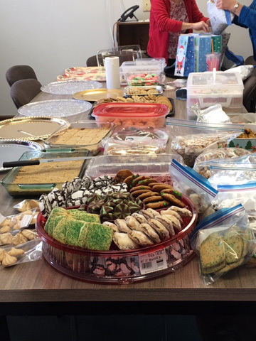 Central Office Bakes for Colleagues
