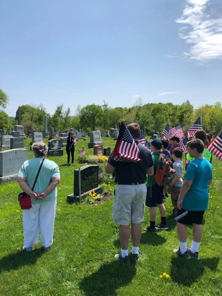 Memorial Day Celebration at Fairfield Center School