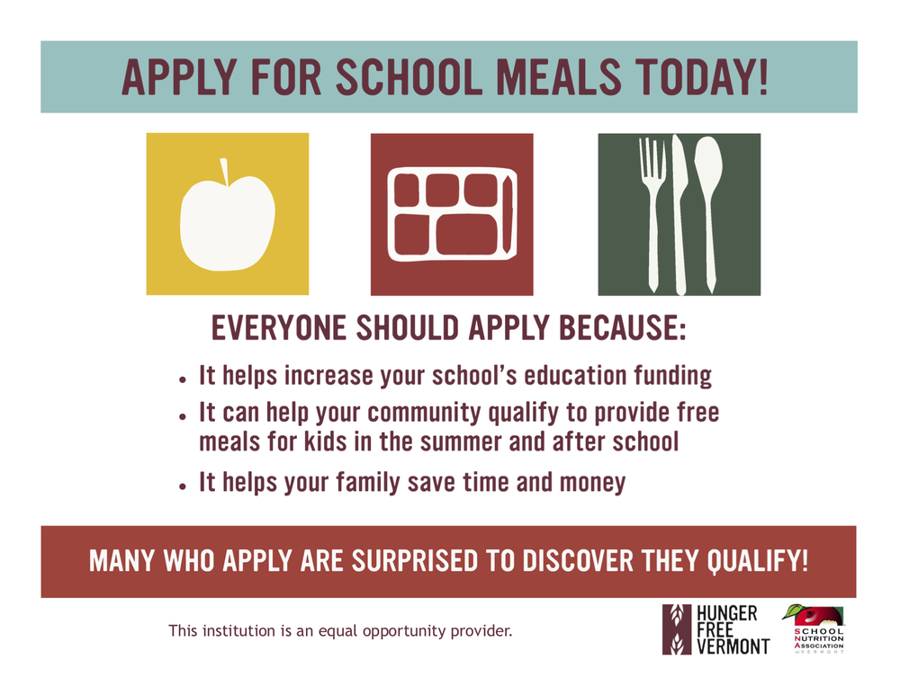 Apply for School Meals Today