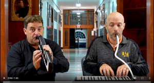 BFA Music Teachers play the school song