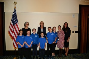SACS Students Awarded at Washington DC