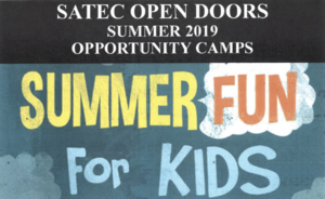 Open Doors Camps for Summer 2019