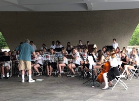 The Greater St. Albans Middle School Band