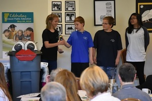 SACS Students Present to Superintendents