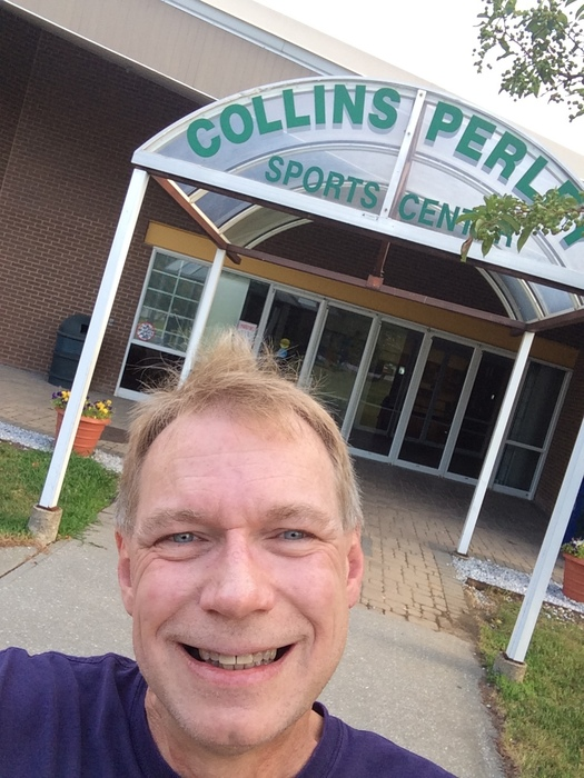 Greeting the morning at Collins Perley
