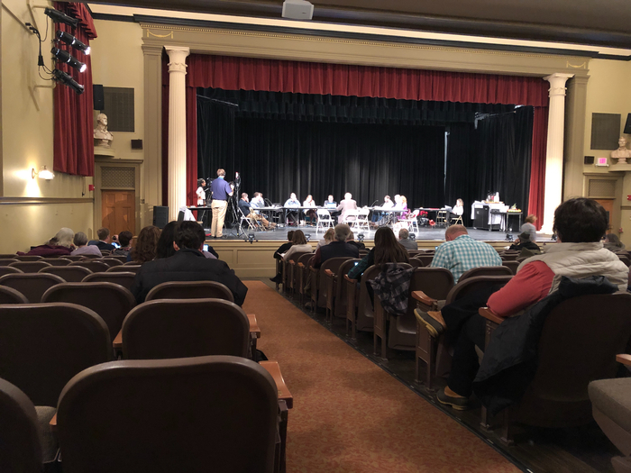 Vermont State Board of Education meeting in the PAC
