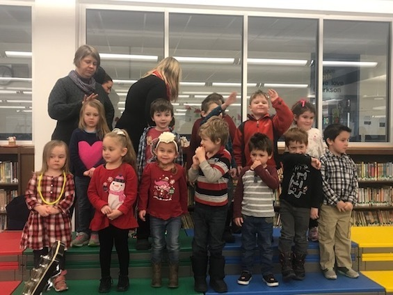 Christmas fun with PreK