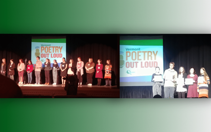Adsel Sparrow at Poetry Out Loud