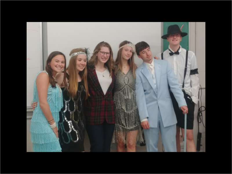 Mrs. Heberts Class Gatsby Party