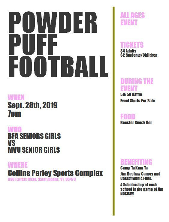 Powder Puff Event!