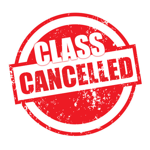 Morning classes canceled - Jan 16