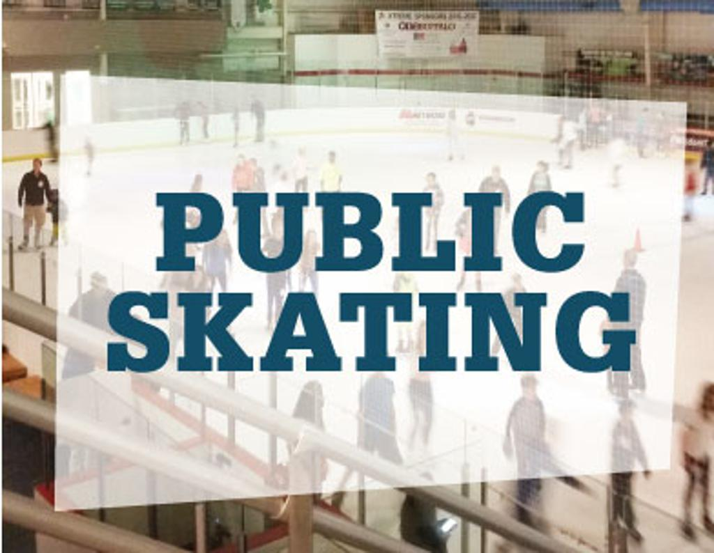 Public skate on Sunday