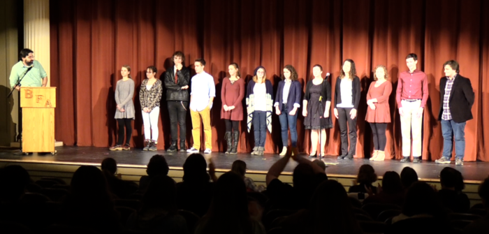 BFA, Poetry Out Loud event