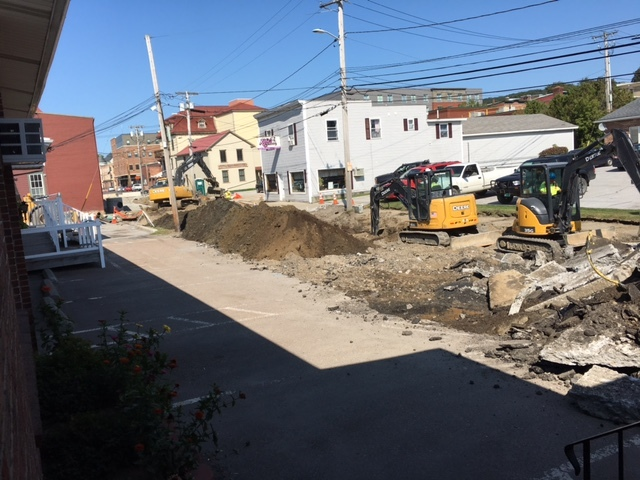 Catherine Street Road Construction continues